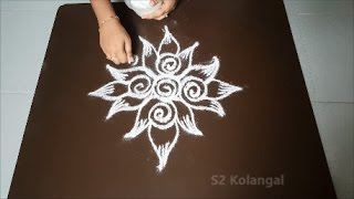 Small Kolam Designs Without Dots Free Online Videos Best Movies Tv