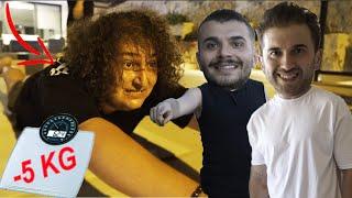 MESUT CAN TOMAY \'A 6 SAATTE 5 KİLO VERDİRME CHALLENGE w/ Mesut Can Tomay & Cihan Albayrak