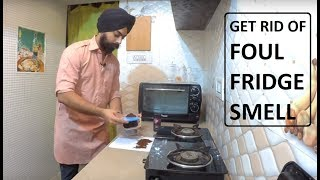 How to get rid of fridge smell / odor easily - Kitchen Hacks