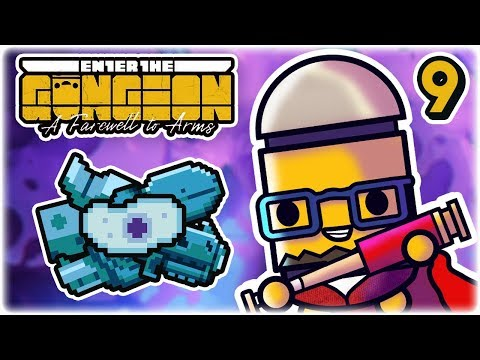 Evolver, Shapeshifting Gun | Part 9 | Let's Play: Enter the Gungeon: Farewell to Arms | PC Gameplay