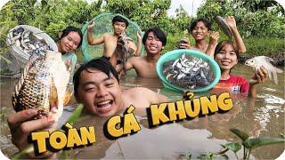 Tony | Dẫn Team Đi Bắt Cá & Kết Quả Bất Ngờ - Catch Fish With Hand
