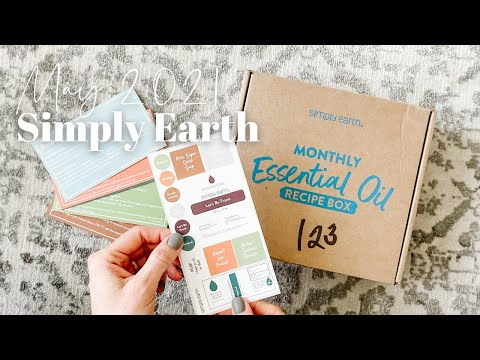 Simply Earth Unboxing May 2021