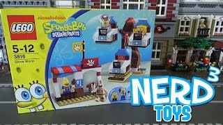 Nerd³'s Lego Tuesdays - Spongebob's Glove World - 3816