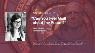 "Heidy Meriste, ""Can You Feel Guilt about the Future?"""