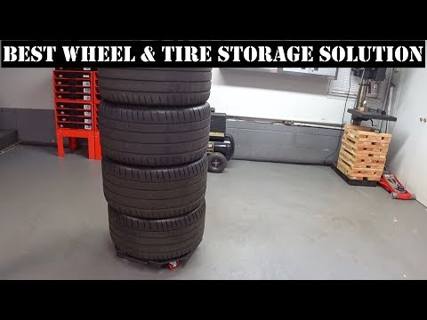 Best Wheel and Tire Storage Solution CHEAP | Auto Fanatic