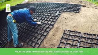 GeoSYSTEM S60s How To Install Ecogrid On Slope