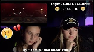Logic   1 800 273 8255 Ft. Alessia Cara, Khalid. REACTION! *EMOTIONAL*