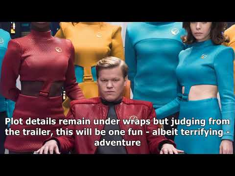 Black mirror takes on star trek in unnervingly campy trailer for