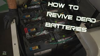 How to Charge Dead Golf Cart Batteries - Reviving Dead 6v & 8v Golf Cart Batteries FAQ