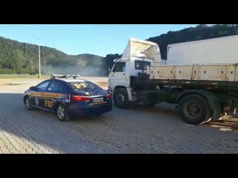 PRF prende integrantes de quadrilha especializada em roubos de caminhões e cargas na Régis Bittencourt em São Paulo