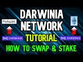 Darwinia Network Tutorial How To Swap And How To Stake
