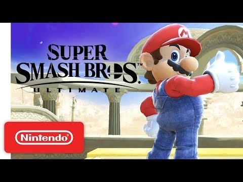 Super Smash Bros. Ultimate Nintendo Key Nintendo Switch EUROPE - video trailer