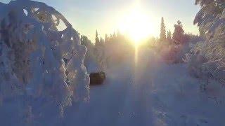DJI Phantom 3 - Winter Flight Norway