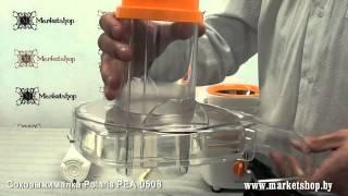 Соковыжималка центробежная POLARIS PEA 0508 от компании F-Mart - видео
