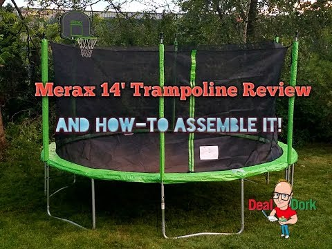 Review and Step by Step Guide How to Assemble It Merax 14' Trampoline