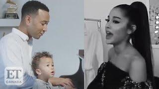 Ariana Grande Reacts To John Legend's 'NASA' Cover