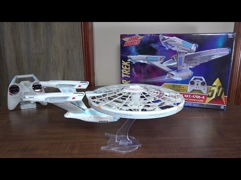 Air Hogs - Star Trek U.S.S. Enterprise NCC-1701-A - Review and Flight