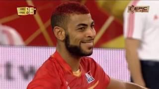 Лучший из лучших в волейболе мощь, удар, сила, машина звезда Франции