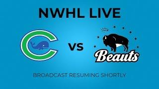 Connecticut Whale vs. Buffalo Beauts - 12.08.18