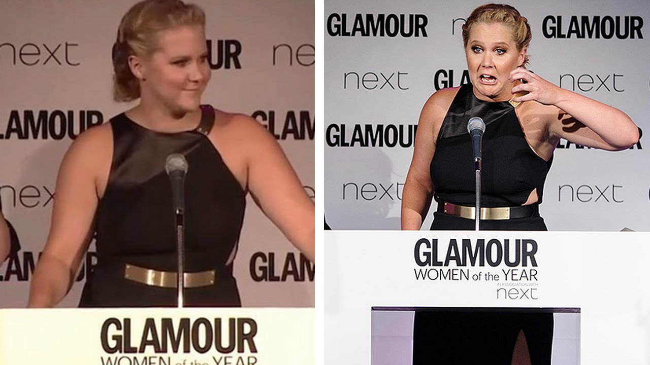 Amy Schumer's 'Catch A Dick' NSFW Acceptance Speech Is Simply Awesome thumbnail