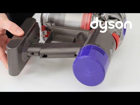 Aspiradoras sin cable Dyson V8  - Sustituir la batería (ES)