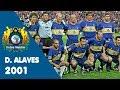 La hazaña del 2001, Alavés en UEFA