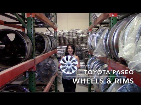 Factory Original Toyota Paseo Rims & OEM Toyota Paseo Wheels – OriginalWheel.com