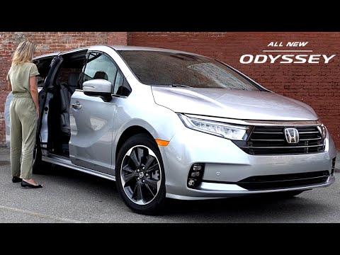 2021 HONDA ODYSSEY Redesign - Fresh Look! New Interior and Features (Family MPV)