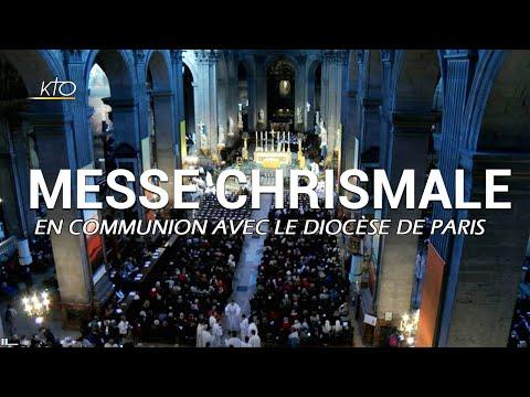 Messe chrismale à Saint-Sulpice