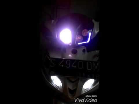 Video Modif ringan Jupiter z1 th 2013, Htr 2.5, Cree MKR