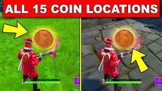 Collect Coins in Featured Creative Islands - ALL 15 LOCATIONS LOCATIONS OVERTIME CHALLENGES FORTNITE