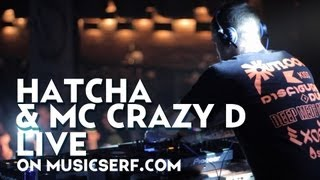 DJ Hatcha and MC Crazy - Live @ Bass Exe Festival, Saint-Petersburg, Russia 2012