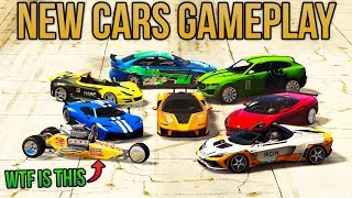 GTA Online ALL UNRELEASED SUPER & SPORT CARS GAMEPLAY! Emerus, Zorrusso, Krieger, Rocket Bike & More
