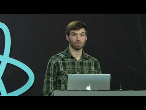 James Long presenting Prettier at React Conf 2017
