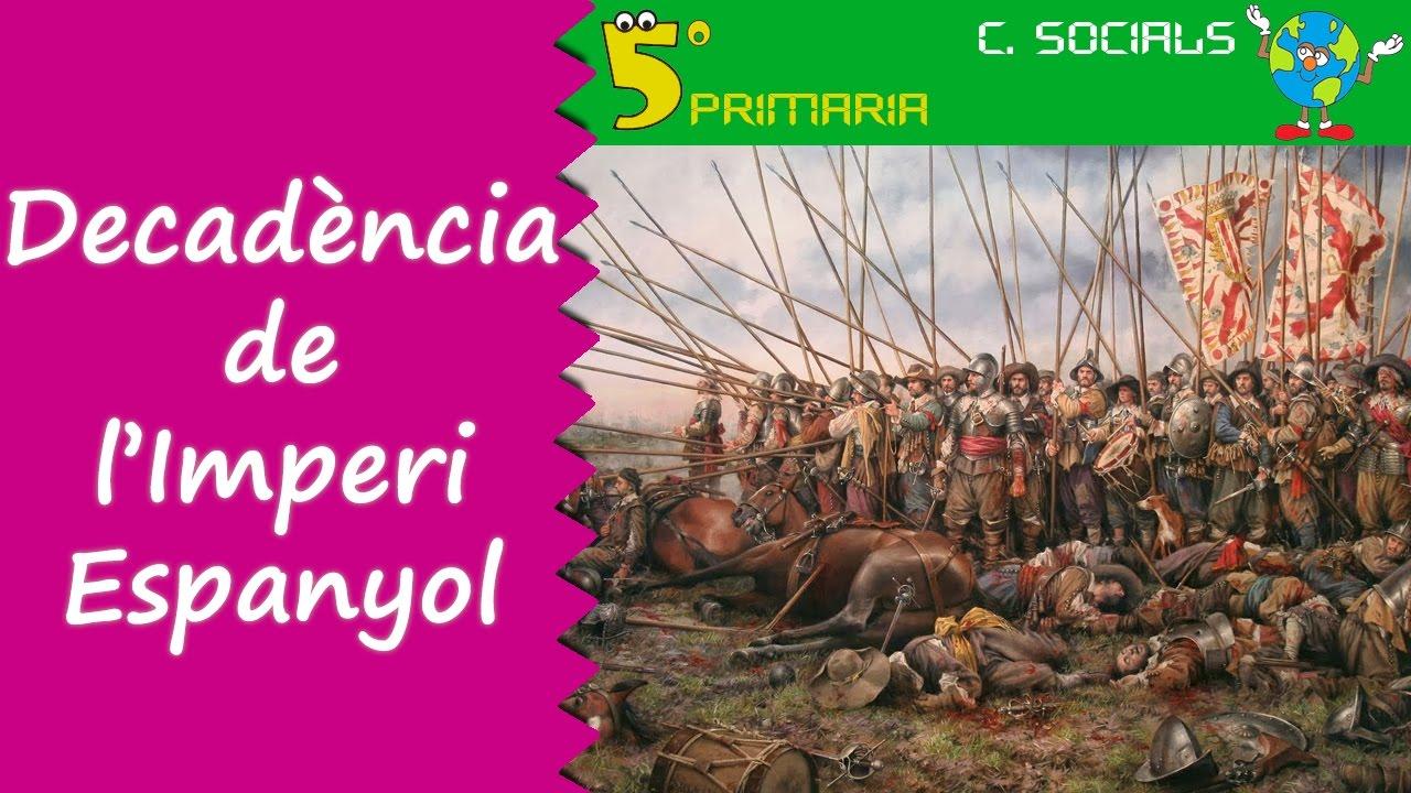 Decadència de l'Imperi Espanyol. Socials, 5é Primaria, Tema 8