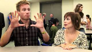 Barrett Foa and Renée Felice Smith NCIS: LA Comic-Con 2011 Interview