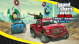 New Target Assault Races Mode in GTA Online - with Trailer