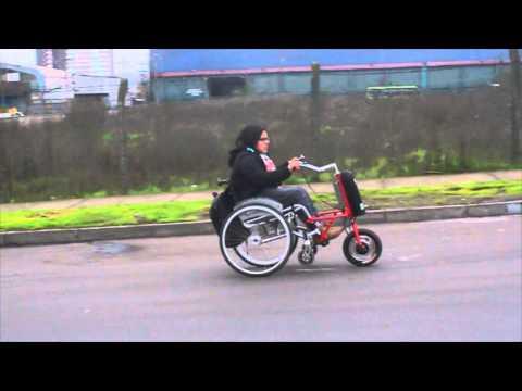 Motorizador Lazaro L - 250  para silla de ruedas.