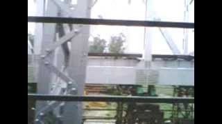 preview picture of video 'Crossing Hooghly River by Bandel Local'