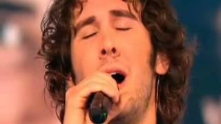 "Josh Groban singing ""Petit Papa Noel"" on Methode Cauet in France on 12-21-07"