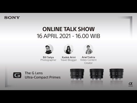 Online Talk Show | Compact G Lens
