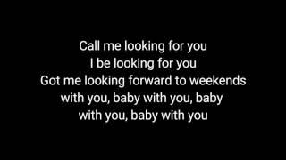 SZA Love Galore Ft. Travis Scott (lyrics)