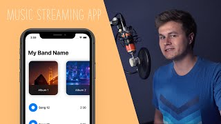 I Make a Music Streaming App in One Day! ( Part 1 | Swift | Xcode)