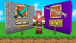 Minecraft ITA - ARMI DI FORTNITE VS ARMI DI MINECRAFT!!