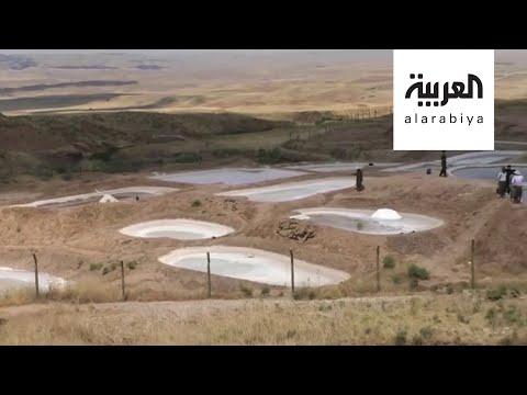 العرب اليوم - شاهد: قرية في كردستان العراق تتخطى الأزمة الاقتصادية بالملح