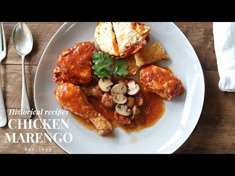 Chicken Marengo: recipe for Napoleon (created on the battlefield)