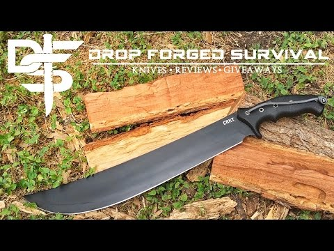 CRKT ChanceInHell 16″ MACHETE – Full Test & Review