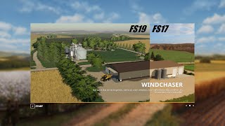 FS19 Windchaser Farm Fly Thru