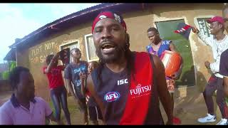 Essendon FC Theme Song: African Version By Coopy Bly