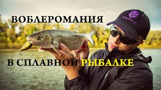 Drift fishing - сплавная рыбалка, часть 2. Про воблеры.